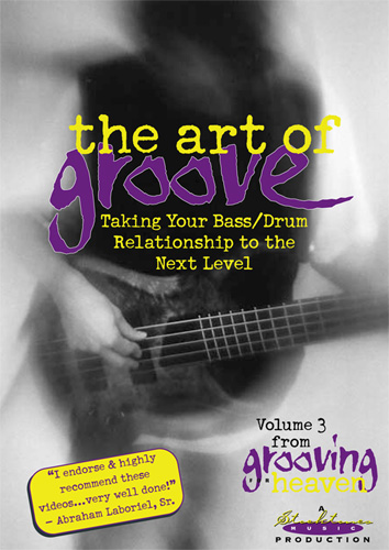 Grooving for Heaven Volume 3 - The Art of Groove - Norm Stockton