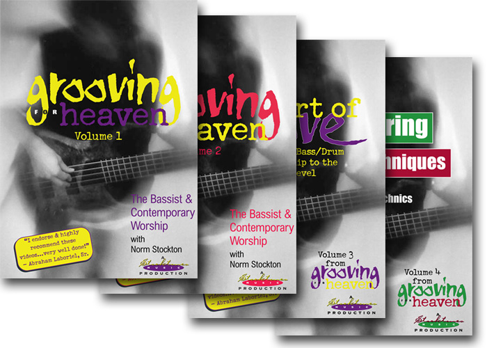 Grooving for Heaven 4-DVD Package